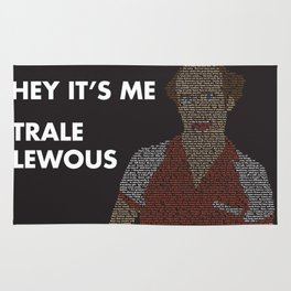 Trale Lewous Tribute Poster Rug