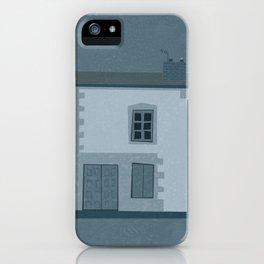 La maison et l'oiseau iPhone Case