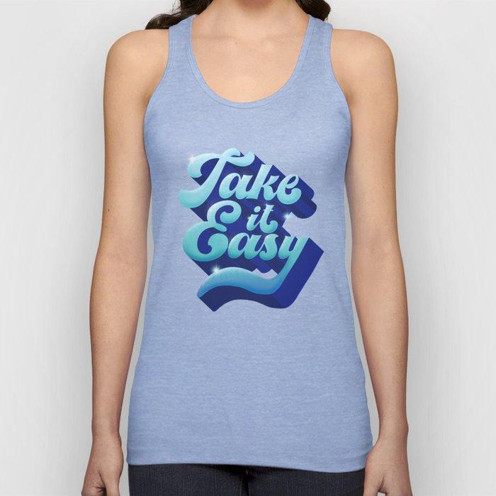 TAKE IT EASY Unisex Tank Top