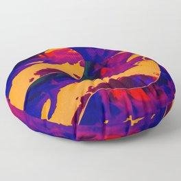 Vapor mango Floor Pillow