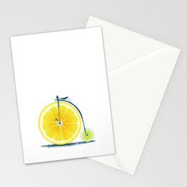 Lemon Lime and an Old Bike Stationery Cards