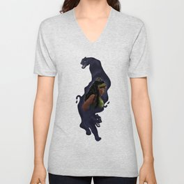 Colombian black panther Unisex V-Neck