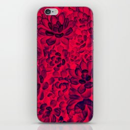 Floral tribute [rose] iPhone Skin