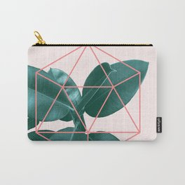 Geometric greenery II Carry-All Pouch