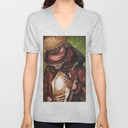 The Hatter's Search Unisex V-Neck
