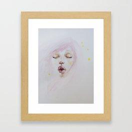 Star Gaze Framed Art Print