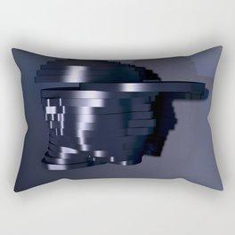 Head Escalates (Say yes to Deconstructivism) Rectangular Pillow