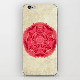 Tudor Red Rose iPhone Skin