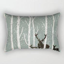 DEER FOREST Rectangular Pillow