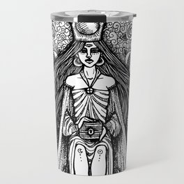 The High Priestess Travel Mug
