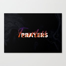 Fearless Prayers Canvas Print