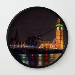 Big Ben. London Town ,cityscape,skyline ,England decor  Wall Clock