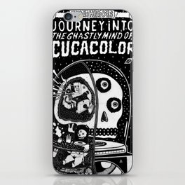 journey in to the ghastly mind of cucacolor iPhone Skin