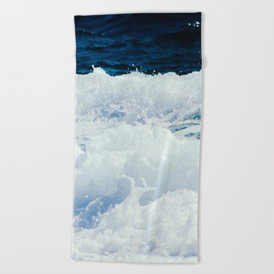 Ocean Waves Beach Towel