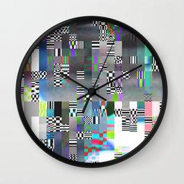 Glitch - 1 Wall Clock