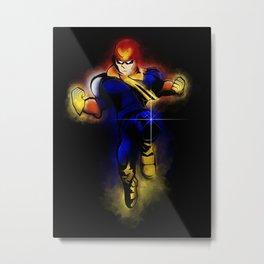 Knee of Justice Metal Print