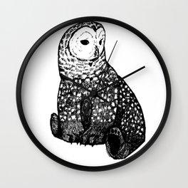 Owl-Bear Wall Clock