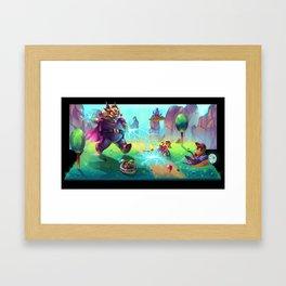 Diddy Kong Racing Framed Art Print