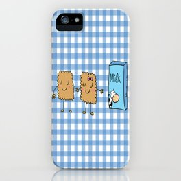 Cookies and Milk iPhone Case