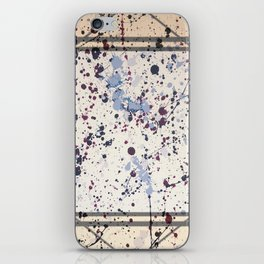 Attraction - square graphic iPhone Skin
