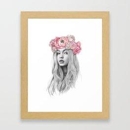 GIGI Framed Art Print