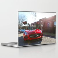mercedes Laptop & iPad Skins featuring AMG Gives you Wings... by Alexandre1983 Photography