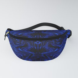 Psychedelic Blue Flow Fanny Pack