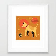 Laika ... Framed Art Print
