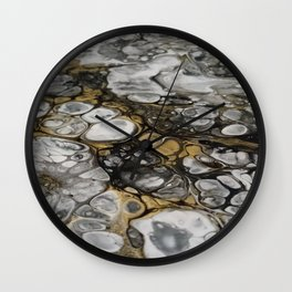 Swirling eddy Wall Clock