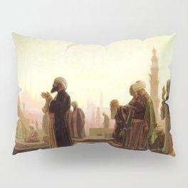 Islamic Masterpiece 'Prayer in Cairo' by Jéan Leon Gerome Pillow Sham