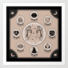 Witch Accessories Art Print