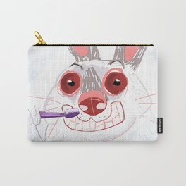 The Rabbit Diaries: Time to Clean Your Teeth (c) 2017 Carry-All Pouch