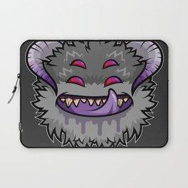Diabolical Fuzzball (charcoal) Laptop Sleeve