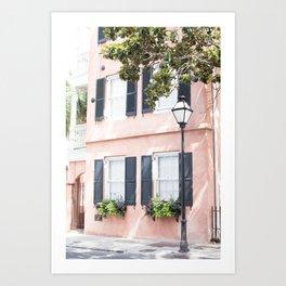 The Peach House - Charleston, SC Art Print