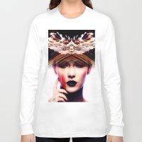 siren Long Sleeve T-shirts featuring Siren by Cash Mattock