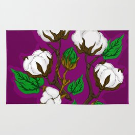 Cotton Berry Rug