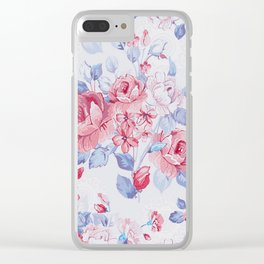 FLOWER PATTERN9 Clear iPhone Case