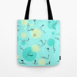 Surf Crazy Pattern Design Tote Bag