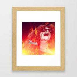 'ANY LAST WORD?' 'ONLY ONE... BALENCIAGAAAAA' Framed Art Print