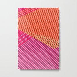 Color lines Metal Print