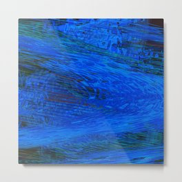 There is Water at the Bottom of the Ocean Metal Print