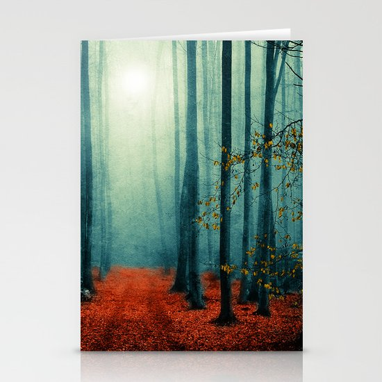 Landscape (colour option) Stationery Cards