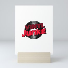 Vinyl Junkie Mini Art Print