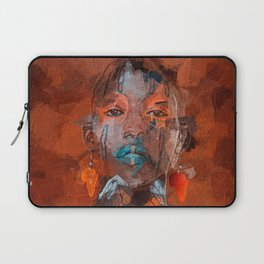 Black african woman Laptop Sleeve