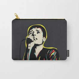 Ian Curtis Pop Art Quote / Joy Division Carry-All Pouch