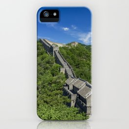 The wall of a million steps iPhone Case