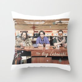 The Big Lebowski Throw Pillow