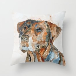 DOG#12 Throw Pillow