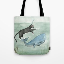 Millie and Her Whale Tote Bag