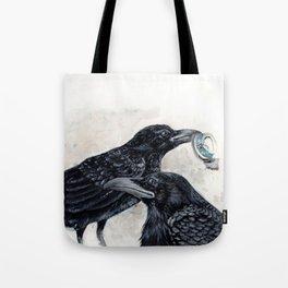 Scavenger Crows Tote Bag
